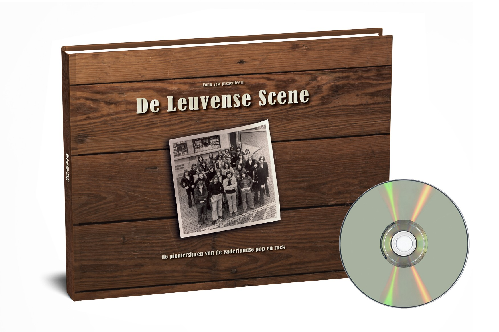 De Leuvense Scene - BOEK + DVD
