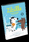 Zibilla staat op haar strepen